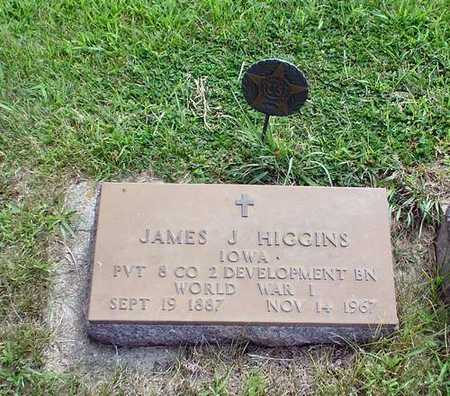 HIGGINS, JAMES J. - Crawford County, Iowa   JAMES J. HIGGINS