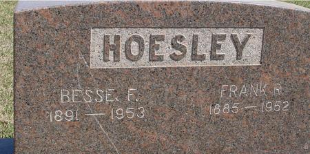 HOESLEY, BESSIE & FRANK - Crawford County, Iowa | BESSIE & FRANK HOESLEY