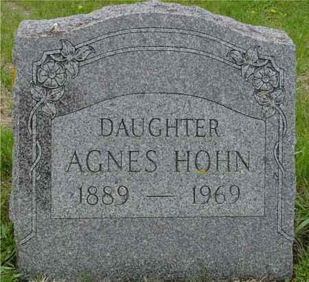 HOHN, AGNES - Crawford County, Iowa | AGNES HOHN