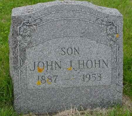 HOHN, JOHN J. - Crawford County, Iowa | JOHN J. HOHN