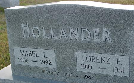 HOLLANDER, LORENZ & MABEL - Crawford County, Iowa | LORENZ & MABEL HOLLANDER