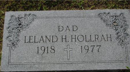 HOLLRAH, LELAND H. - Crawford County, Iowa   LELAND H. HOLLRAH