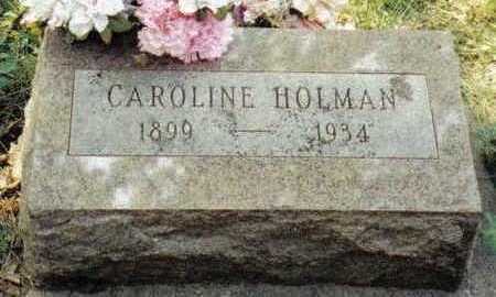 LUFT HOLMAN, CAROLINE - Crawford County, Iowa | CAROLINE LUFT HOLMAN
