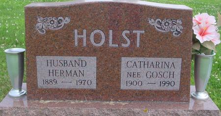 HOLST, HERMAN & CATHARINA - Crawford County, Iowa | HERMAN & CATHARINA HOLST