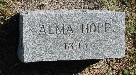 HOPP, ALMA - Crawford County, Iowa | ALMA HOPP