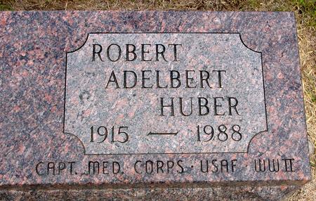 HUBER, ROBERT ADELBERT - Crawford County, Iowa | ROBERT ADELBERT HUBER
