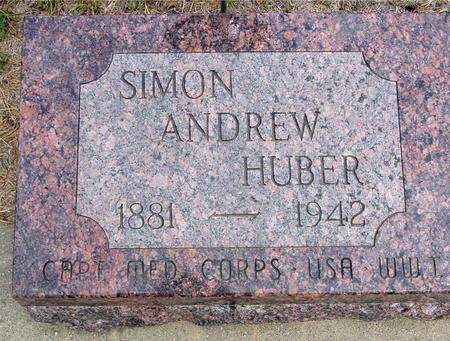 HUBER, SIMON ANDREW - Crawford County, Iowa | SIMON ANDREW HUBER