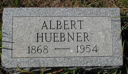 HUEBNER, ALBERT - Crawford County, Iowa | ALBERT HUEBNER