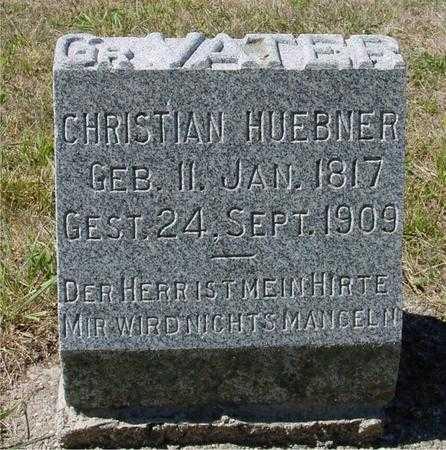 HUEBNER, CHRISTIAN - Crawford County, Iowa | CHRISTIAN HUEBNER