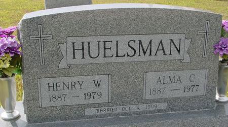 HUELSMAN, HENRY & ALMA - Crawford County, Iowa | HENRY & ALMA HUELSMAN