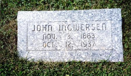 INGWERSEN, JOHN - Crawford County, Iowa   JOHN INGWERSEN