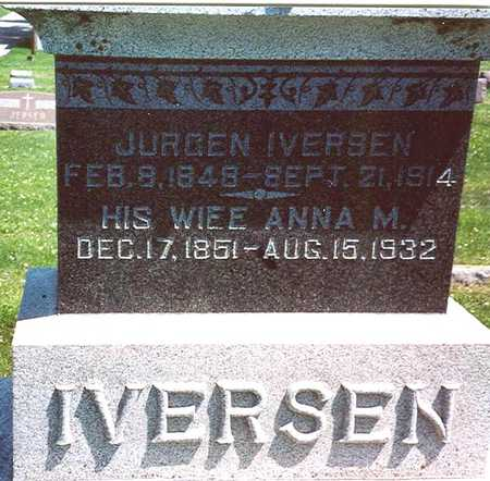 IVERSEN, JURGEN & ANNA M. - Crawford County, Iowa | JURGEN & ANNA M. IVERSEN