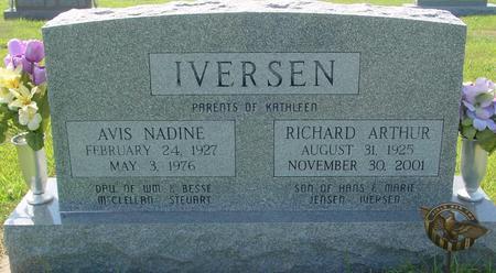 IVERSEN, RICHARD & AVIS - Crawford County, Iowa | RICHARD & AVIS IVERSEN