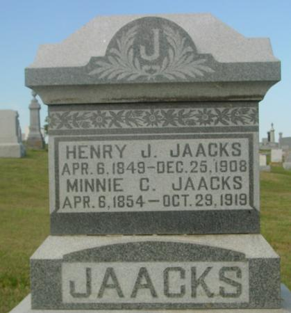 JAACKS, HENRY J. - Crawford County, Iowa | HENRY J. JAACKS