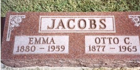 JACOBS, OTTO & EMMA - Crawford County, Iowa | OTTO & EMMA JACOBS