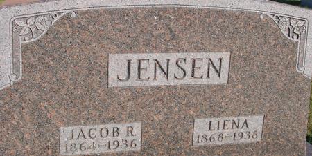 JENSEN, JACOB & LIENA - Crawford County, Iowa | JACOB & LIENA JENSEN