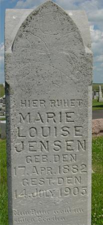 JENSEN, MARIE LOUISE - Crawford County, Iowa | MARIE LOUISE JENSEN