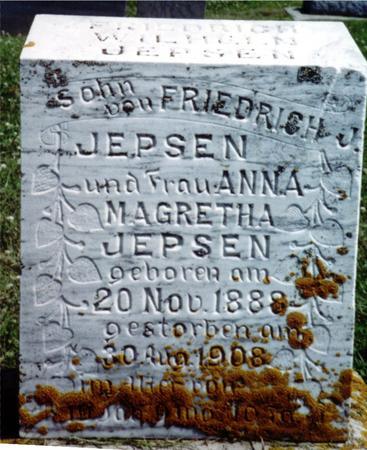 JEPSEN, FRIEDERICH - Crawford County, Iowa | FRIEDERICH JEPSEN