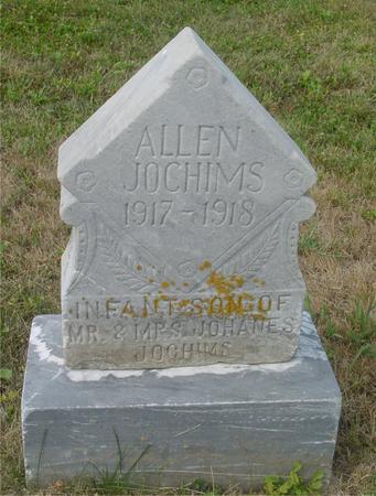 JOCHIMS, ALLEN - Crawford County, Iowa   ALLEN JOCHIMS