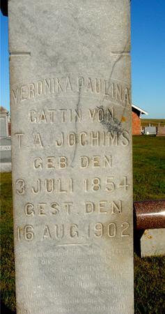 JOCHIMS, VERONIKA PAULINA - Crawford County, Iowa | VERONIKA PAULINA JOCHIMS