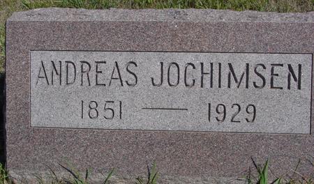 JOCHIMSEN, ANDREAS - Crawford County, Iowa   ANDREAS JOCHIMSEN