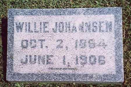 JOHANNSEN, WILLIE - Crawford County, Iowa | WILLIE JOHANNSEN