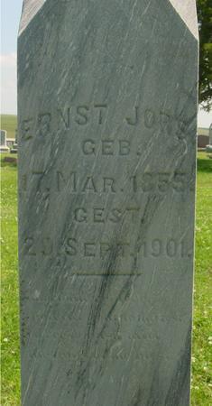 JORS, ERNST - Crawford County, Iowa | ERNST JORS