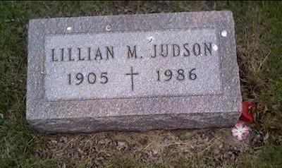 JUDSON, LILLIAN - Crawford County, Iowa | LILLIAN JUDSON