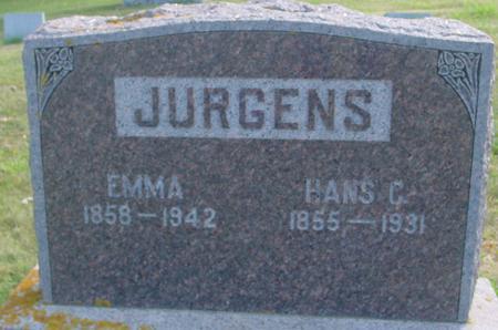 JURGENS, HANS C. & EMMA - Crawford County, Iowa | HANS C. & EMMA JURGENS
