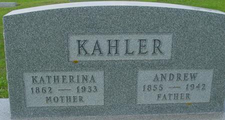 KAHLER, ANDREW - Crawford County, Iowa   ANDREW KAHLER