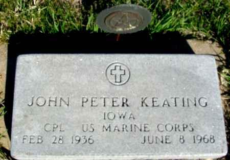 KEATING, JOHN PETER - Crawford County, Iowa | JOHN PETER KEATING