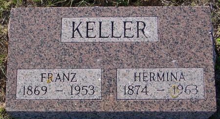 KELLER, FRANZ & HERMINA - Crawford County, Iowa | FRANZ & HERMINA KELLER