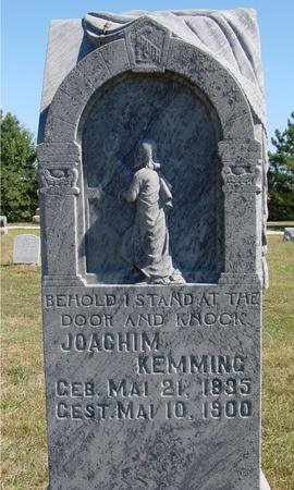 KEMMING, JOACHIM - Crawford County, Iowa   JOACHIM KEMMING