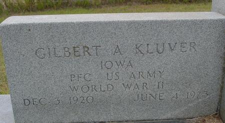 KLUVER, GILBERT A. - Crawford County, Iowa   GILBERT A. KLUVER