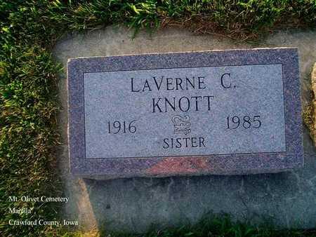KNOTT, LAVERNE C. - Crawford County, Iowa | LAVERNE C. KNOTT