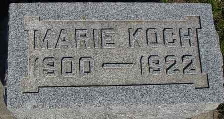 KOCH, MARIE - Crawford County, Iowa   MARIE KOCH