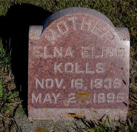KOLLS, ELNA ELISE - Crawford County, Iowa   ELNA ELISE KOLLS
