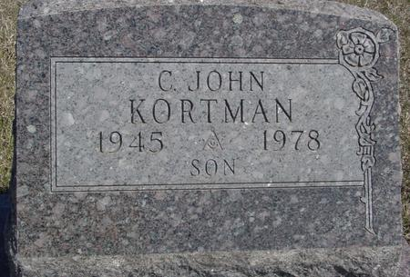 KORTMAN, C. JOHN - Crawford County, Iowa | C. JOHN KORTMAN