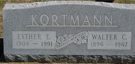 KORTMAN, WALTER & ESTHER - Crawford County, Iowa | WALTER & ESTHER KORTMAN