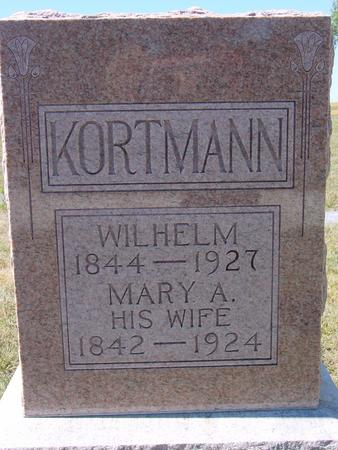 KORTMANN, WILHELM & MARY - Crawford County, Iowa | WILHELM & MARY KORTMANN