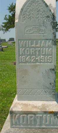 KORTUM, WILLIAM - Crawford County, Iowa | WILLIAM KORTUM