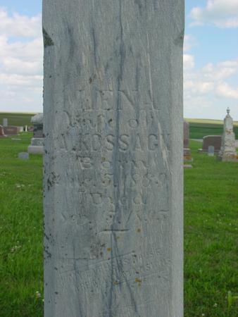 KOSSACK, LENA - Crawford County, Iowa | LENA KOSSACK