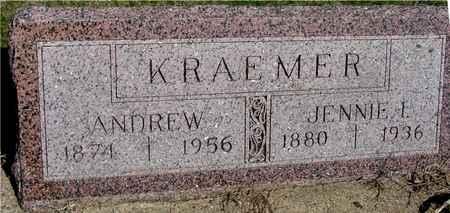 KRAEMER, ANDREW & JENNIE - Crawford County, Iowa   ANDREW & JENNIE KRAEMER