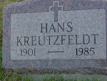 KREUTZFELDT, HANS - Crawford County, Iowa   HANS KREUTZFELDT