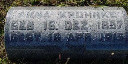 KROHNKE, ANNA - Crawford County, Iowa | ANNA KROHNKE