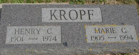 KROPF, HENRY & MARIE - Crawford County, Iowa | HENRY & MARIE KROPF