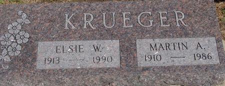 KRUEGER, MARTIN & ELSIE - Crawford County, Iowa | MARTIN & ELSIE KRUEGER