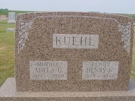 KUEHL, HENRY & ADELA - Crawford County, Iowa | HENRY & ADELA KUEHL