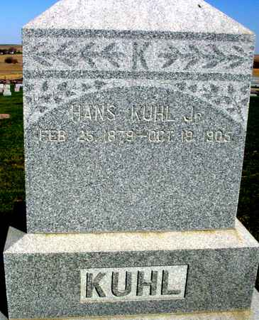 KUHL, HANS  JR. - Crawford County, Iowa | HANS  JR. KUHL