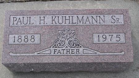 KUHLMAN, PAUL H., SR. - Crawford County, Iowa | PAUL H., SR. KUHLMAN